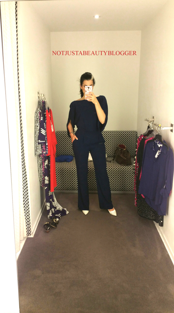 Navy Jumpsuit!