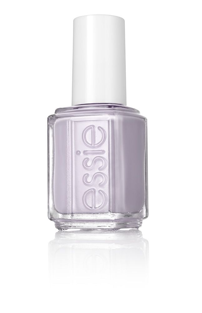 this simply dreamy, soft lilac lacquer creates a manicure that promises love at first sight.
