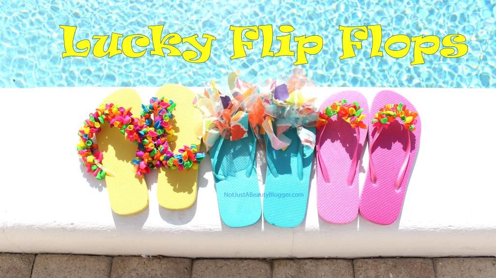 Lucky Flip Flops