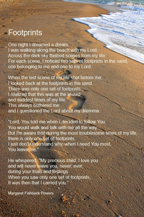 Footprints-poem-s