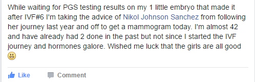 Nikol Johnson IVF Blogger, Infertility blogger, #NIAW, #Startasking